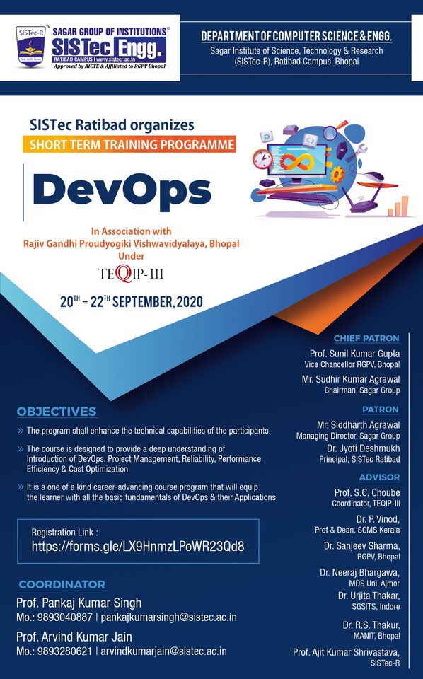 Short Term Training Program on DevOps