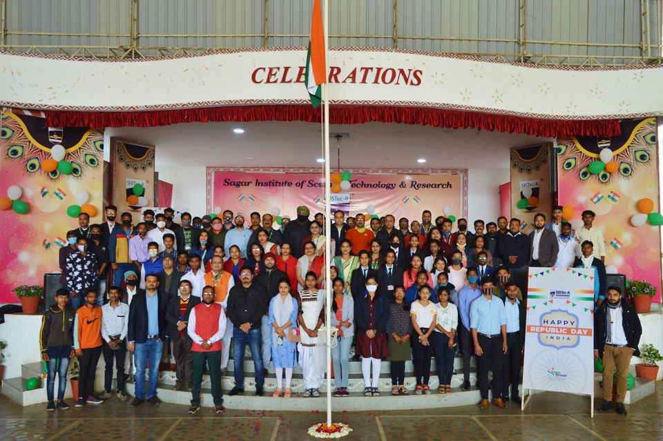 republic day celebrations, best engineering colleges in bhopal