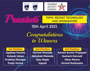 Image by Sagar Institute of Science, Technology & Research-SISTec-R, Prastuti, Online Presentation on Recent Technology and Upgradations, top private engineering colleges in bhopal